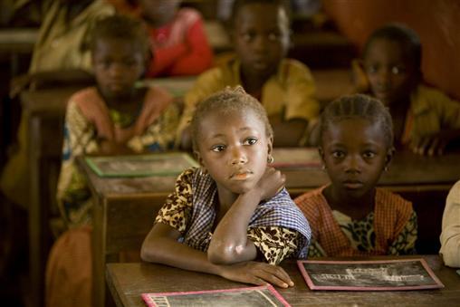 Guinea girls in school